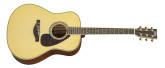 Yamaha - A.R.E. Dreadnought Acoustic/Electric Guitar - Mahogany