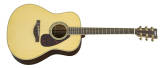 Yamaha - A.R.E. Dreadnought Acoustic/Electric Guitar - Natural