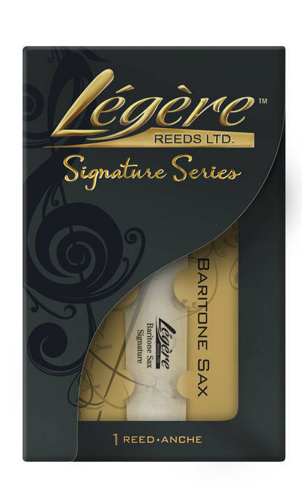 legere signature series bari sax reeds 2 long mcquade musical instruments. Black Bedroom Furniture Sets. Home Design Ideas