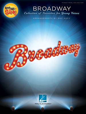 Let's All Sing Broadway (Collection)  - Huff -  Piano/Vocal Book