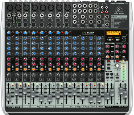 Xenyx 22 Input 2/2 Bus Mixer w/Multi-Fx Processor