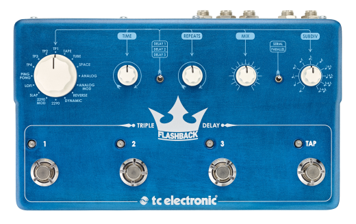 Flashback Triple Delay Pedal