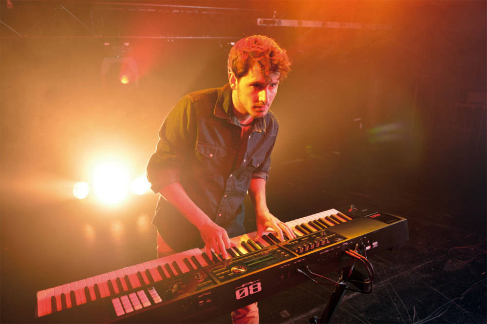 roland 88 key music workstation keyboard long mcquade musical instruments. Black Bedroom Furniture Sets. Home Design Ideas