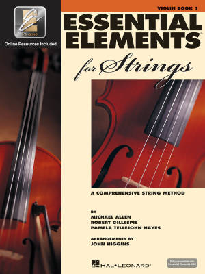 Essential Elements for Strings Book 1 - Violin - Book/Media Online (EEi)