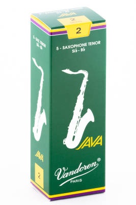 #2 Tenor Sax Java Reeds - Box of 5
