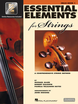 Essential Elements for Strings Book 1 - Cello - Book/Media Online (EEi)
