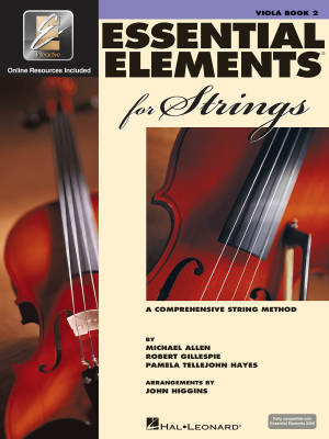 Essential Elements for Strings Book 2 - Viola - Book/Media Online (EEi)