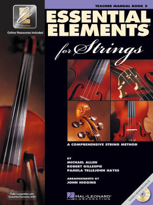 Essential Elements for Strings Book 2 - Teacher Manual - Book/CD/Media Online (EEi)