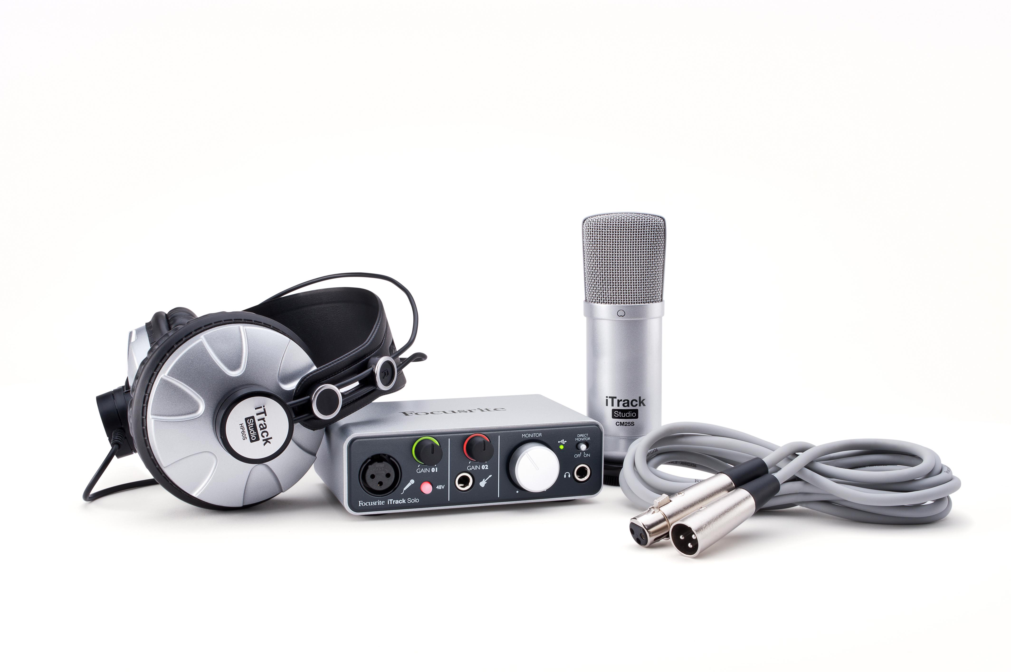Focusrite Studio Package W/Mic/Headphones | Long & McQuade