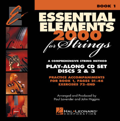 Essential Elements 2000 for Strings Book 1 - CD Set
