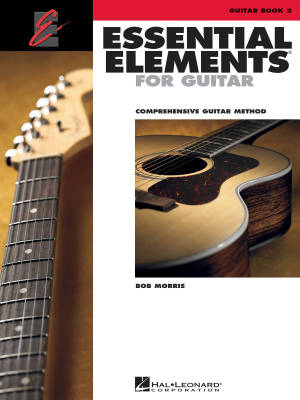 Essential Elements for Guitar Book 2 - Morris - Book