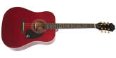 Epiphone - Songmaker DR-100 Acoustic - Wine Red w/Gold Hardware
