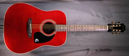 DR-100 Special Edition in Wine Red w/Gold Hardware
