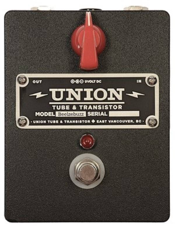 union tube transistor beelzebuzz fuzz pedal long mcquade musical instruments. Black Bedroom Furniture Sets. Home Design Ideas
