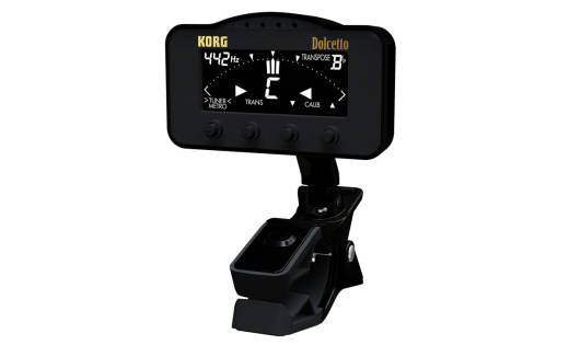 Dolcetto Clip-On Tuner/Metronome - Orchestral