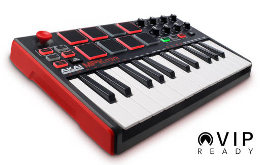 MPK Mini II - 25 Note Keyboard/Drum Pad Controller