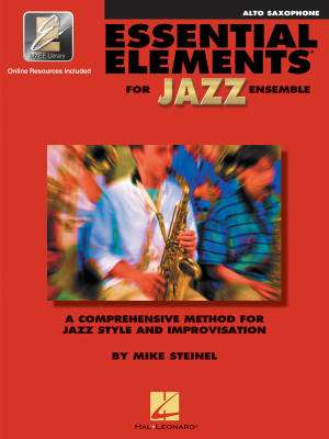 Essential Elements for Jazz Ensemble - Steinel - Alto Saxophone - Book/Media Online