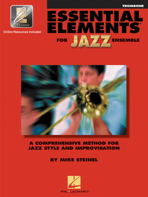 Essential Elements for Jazz Ensemble - Steinel - Trombone - Book/Media Online