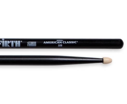 5B American Classic (Hickory/Wood Tip) - Black