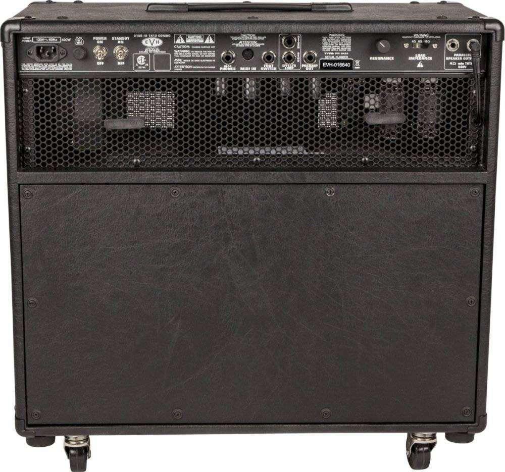 563599fd81a EVH 5150III 1 X 12 50 Watt Combo Amp - Black - Long   McQuade ...