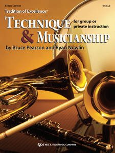 Tradition of Excellence: Technique and Musicianship - Pearson/Nowlin - Bb Bass Clarinet