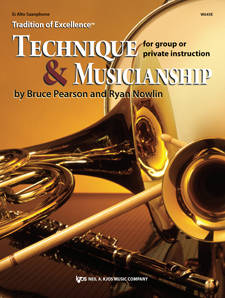 Tradition of Excellence: Technique and Musicianship - Pearson/Nowlin - Eb Alto Saxophone