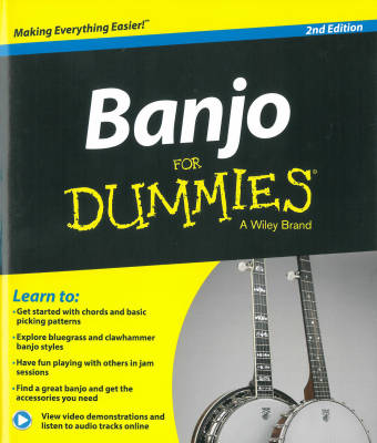 Banjo for Dummies Second Edition - Evans - Book