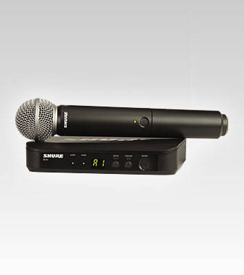 Wireless Handheld System W/ SM58 Microphone