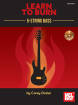 Mel Bay - Learn to Burn: 5-String Bass Guitar - Dozier - Book/CD