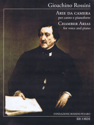 Chamber Arias (Arie de Camera) - Rossini - Voice/Piano