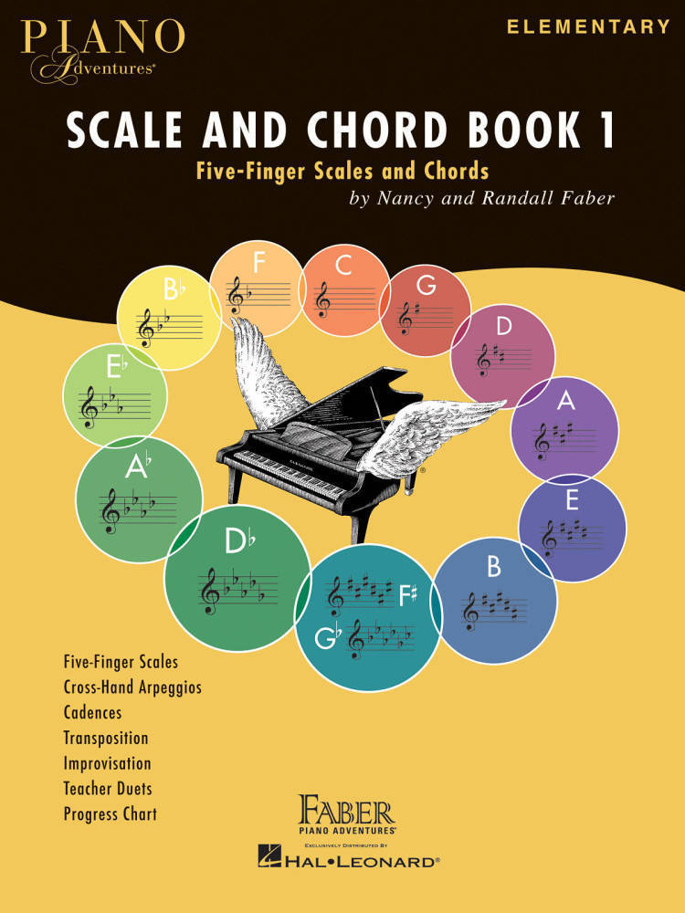 Hal Leonard Piano Adventures Scale And Chord Book 1 Faberfaber