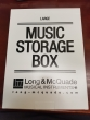 Long & McQuade - Storage Music Boxes - Large