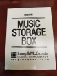 Long & McQuade - Storage Music Boxes - Medium