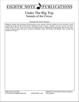 Under The Big Top - Haynor - Brass Quintet