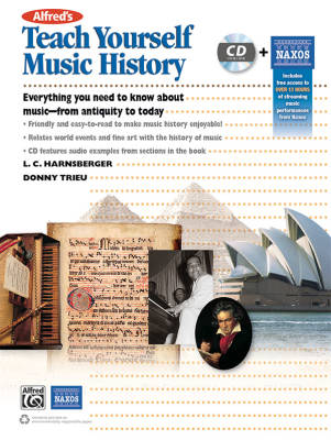 Teach Yourself Music History - Harnsberger/Trieu - Book/CD