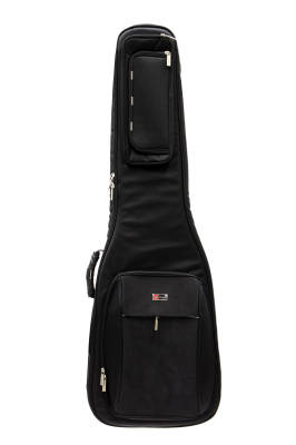 Deluxe Rigid Hybrid Bass Bag - Black
