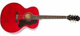 Epiphone - EJ200 Artist Acoustic Guitar - Wine Red