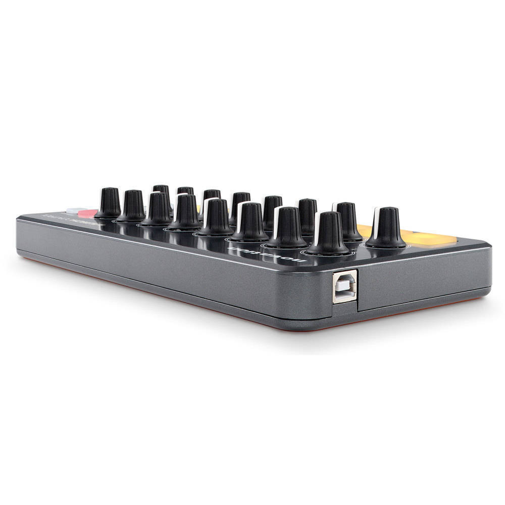 novation 16 knob 8 pad controller long mcquade musical instruments. Black Bedroom Furniture Sets. Home Design Ideas