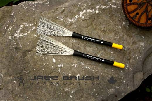 Jazz Brush - Wire Brushes - Retractable