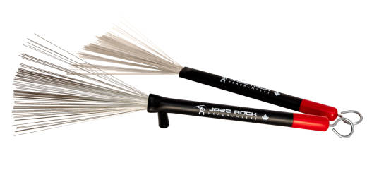 Jazz Rock - Wire Brushes - Retractable Heavy Duty