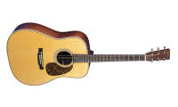 Martin Guitars - HD-28V Vintage Herringbone Dreadnought Guitar w/ Case