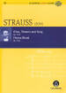 Eulenburg - Wine, Women and Song, Op. 333 & Vienna Blood, Op. 354 - Strauss/Clarke - Study Score/CD