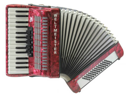 Kristall 30/60/III/5 Accordian - Red