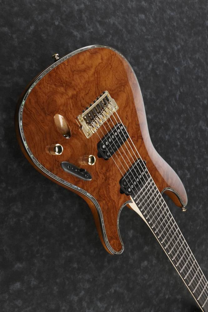 ibanez iron label 7 string electric guitar long mcquade musical instruments. Black Bedroom Furniture Sets. Home Design Ideas