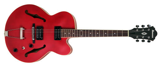Artcore Semi-Hollow Body - Transparent Red