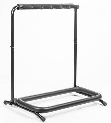 Five Guitar Side Loading Folding Touring Stand