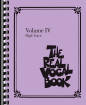 Hal Leonard - The Real Vocal Book - Volume IV - High Voice