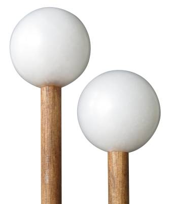 Hard Poly Mallets with Solid Birch Handles