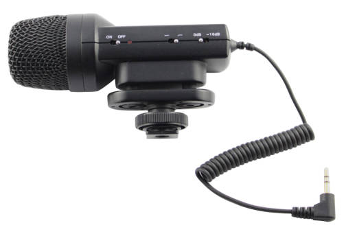Deluxe Stereo DSLR Video Mic