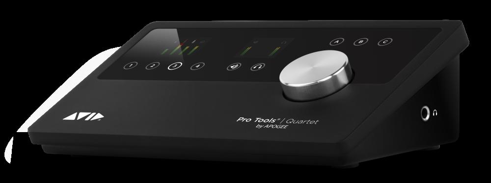 avid pro tools quartet software audio interface pack long mcquade musical instruments. Black Bedroom Furniture Sets. Home Design Ideas